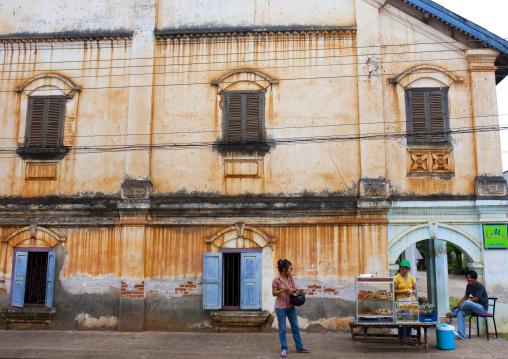 Colonial building, Pakse, Laos
