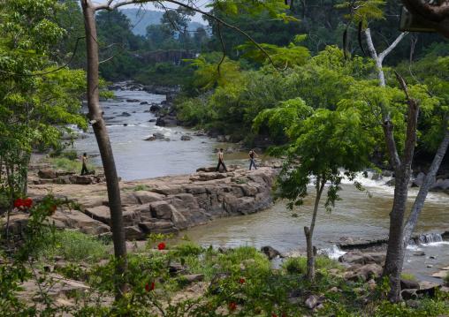Tadfan waterfalls, Boloven, Laos