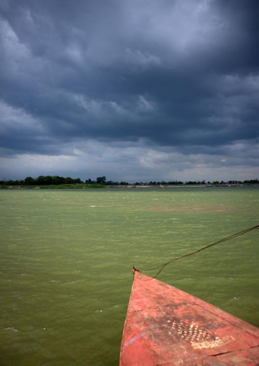 Boat on mekong river, Phonsaad, Laos