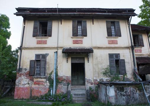Old colonial house, Don khong island, Laos