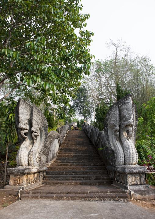 Buddhist temple, Champasak, Laos