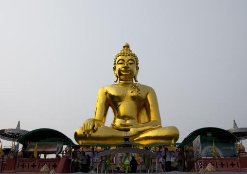Buddha statue, Baci ceremony, Houei xay laos