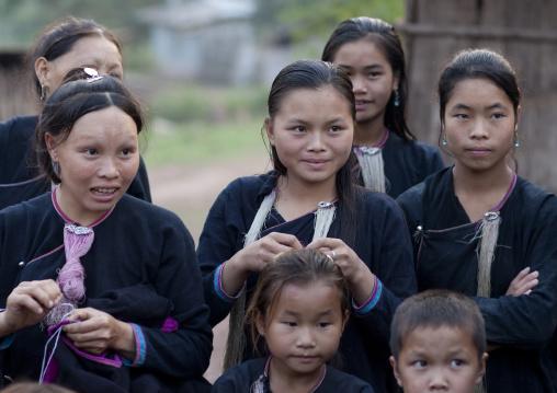 Lantaen minority people, Nam deng, Laos
