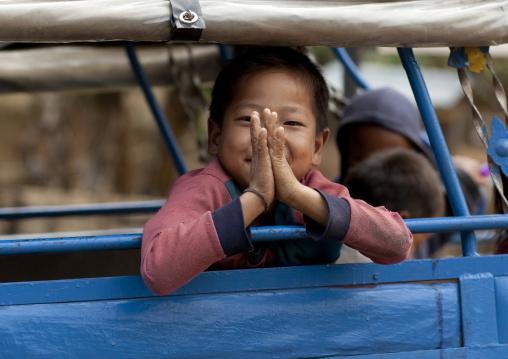 Akha boy, Ban ta mi, Laos