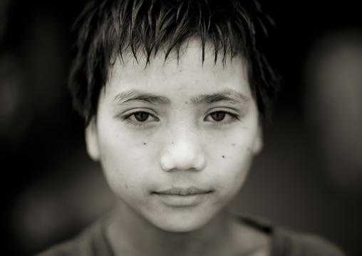 Akha minority boy, Muang sing, Laos