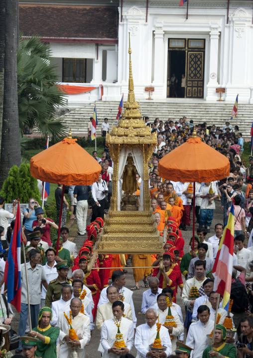 Pii mai lao new year celebration, Luang prabang, Laos