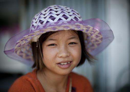 Lao girl, Vientiane, Laos