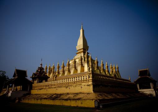 Stupa that luang, Vientiane, Laos