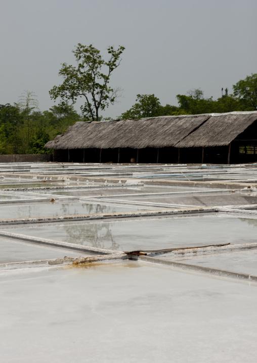 Salt factory, Thalat, Laos