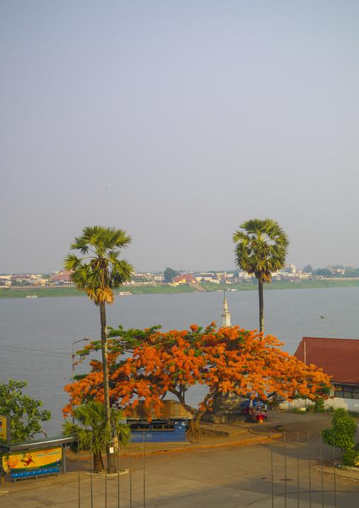 Mekong river, Champasak, Laos