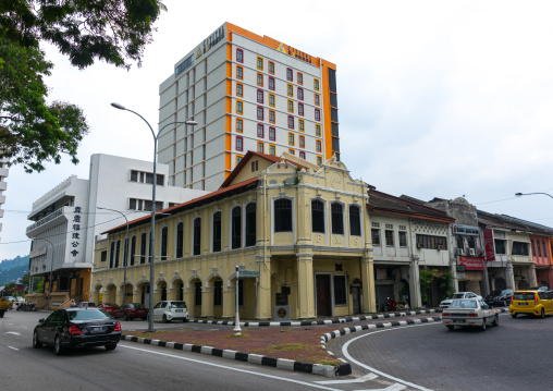 Old Colonial Building, Perak State, Ipoh, Malaysia
