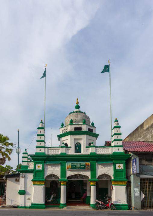 Nagore Dargha Sheriff Mosque, Penang Island, George Town, Malaysia