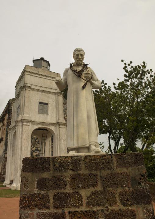 The Ruins Of St Paul Church, Malacca, Malaysia
