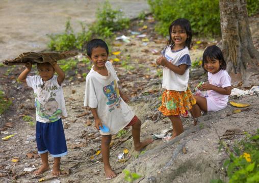 Orang Asli Children, Cameron Highlands, Malaysia