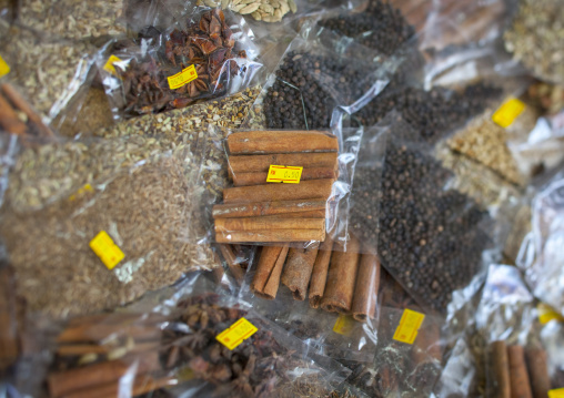 An Assortment Of Spices, George Town, Penang, Malaysia