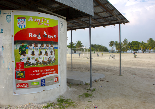 Football Field, Eydhafushi, Baa Atoll, Maldives