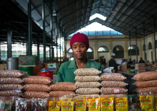Seller In Mercado Central, Maputo, Maputo City, Mozambique