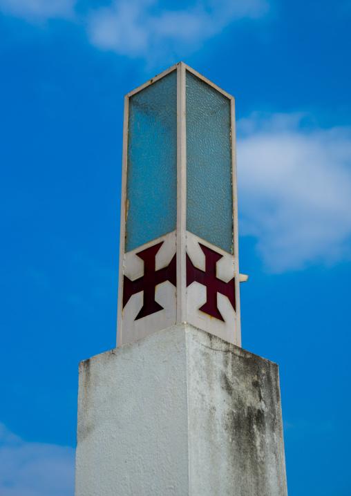 Detail Of The Cathedral Nossa Senhora Da Conceicao, Maputo, Maputo City, Mozambique