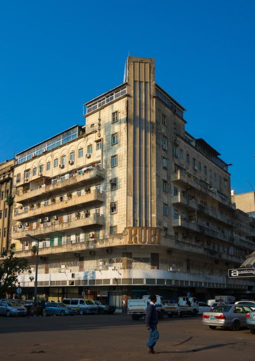 Old Portuguese Colonial Building, Maputo, Maputo City, Mozambique