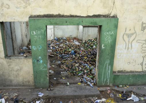Used Bottles Inside Vila Algarve, Maputo, Maputo City, Mozambique
