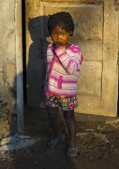 Little Girl In The Sun, Maputo, Maputo City, Mozambique