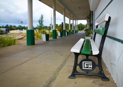 Platform In Railway Station, Inhambane, Inhambane Province, Mozambique