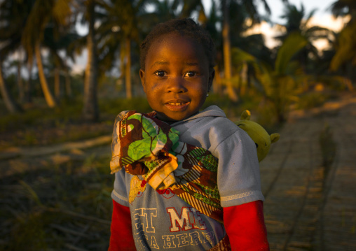 Little Kid In The Country, Inhambane, Inhambane Province, Mozambique