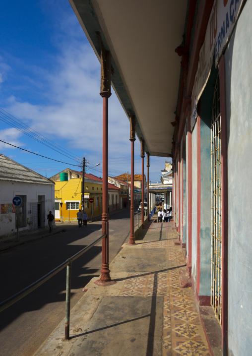 Old Portuguese Colonial Building, Inhambane, Inhambane Province, Mozambique