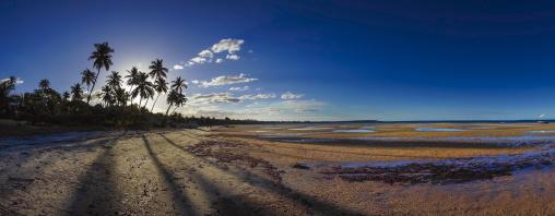 Sunset On The Beach, Vilanculos, Inhambane province, Mozambique
