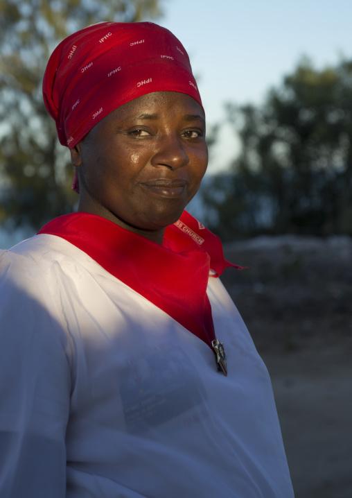 Priest Woman, Vilanculos, Inhambane province, Mozambique
