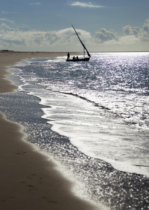 Dhow In Bazaruto National Park, Vilanculos, Inhambane Province, Mozambique