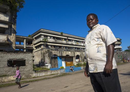 Chief In The Grande Hotel Slum, Beira, Sofala Province, Mozambique