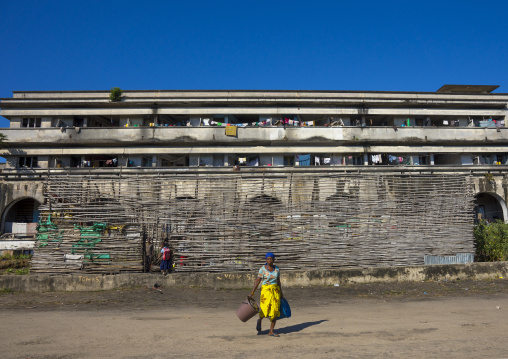 Grande Hotel Slum, Beira, Sofala Province, Mozambique