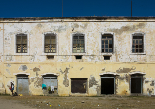 Old Portuguese Colonial Building, Island Of Mozambique, Nampula Province, Mozambique