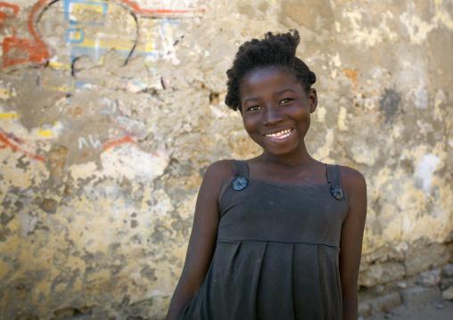 Smiling Young Woman, Ilha de Mocambique, Nampula Province, Mozambique