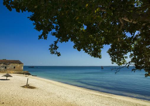 Beach At The Naval Club, Ilha de Mocambique, Nampula Province, Mozambique