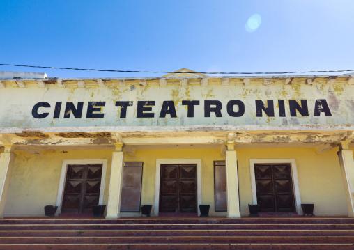 Old Nina Cinema, Ilha de Mocambique, Nampula Province, Mozambique