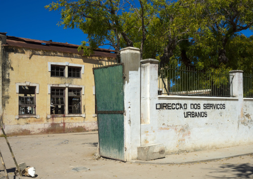 Urban Services Buolding, Ilha de Mocambique, Nampula Province, Mozambique