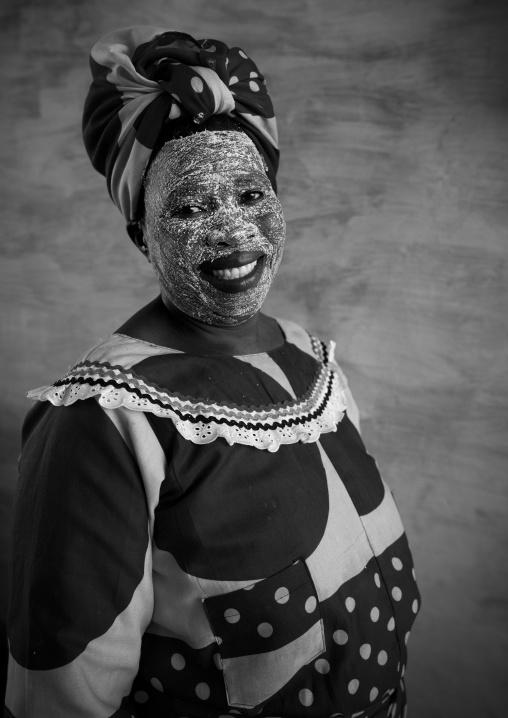 Woman With Muciro Face Mask, Ibo Island, Nampula Province, Mozambique
