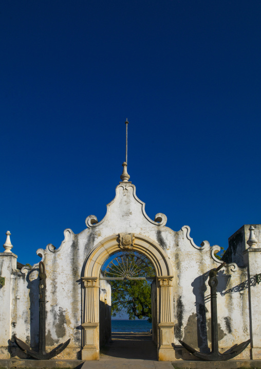Old Naval Academy In Stone Town, Ilha de Mocambique, Nampula Province, Mozambique