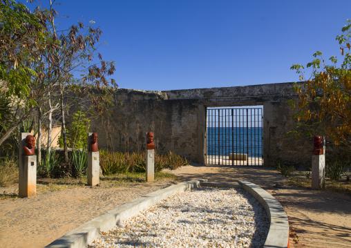 Garden de Memory For Slave Trade, Ilha de Mocambique, Nampula Province, Mozambique