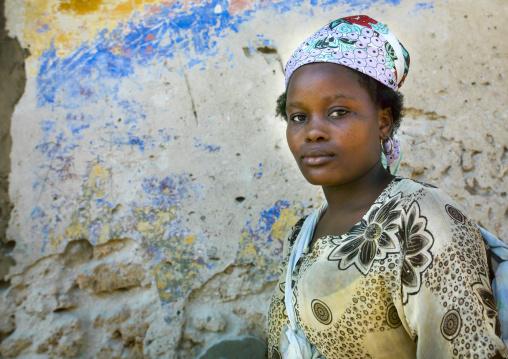 Serious Woman, Ilha de Mocambique, Nampula Province, Mozambique