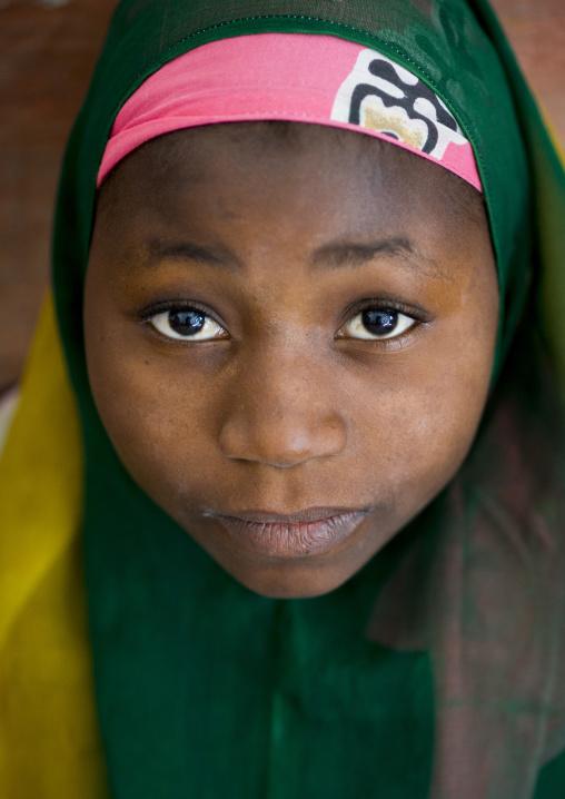 Muslim Girl, Ilha de Mocambique, Nampula Province, Mozambique