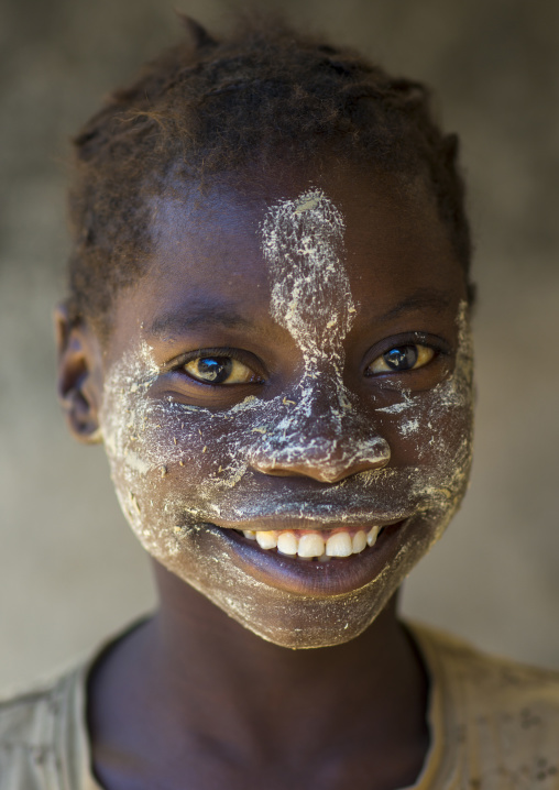 Teenager With Muciro Face Mask, Ibo Ilha, Mozambique