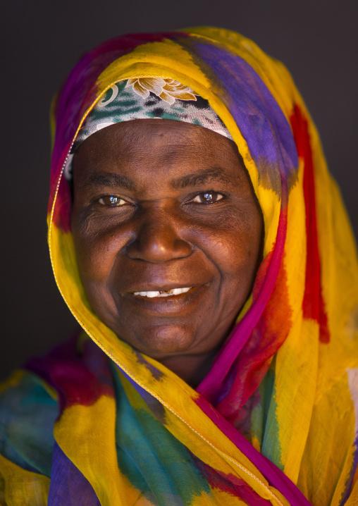 Portrait de A Woman, Ilha de Mocambique, Nampula Province, Mozambique