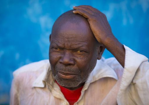 Old Man, Ilha de Mocambique, Nampula Province, Mozambique