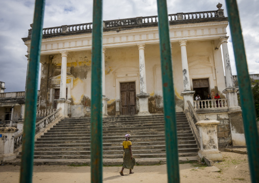 The Old Hospital, Island Of Mozambique, Nampula Province, Mozambique