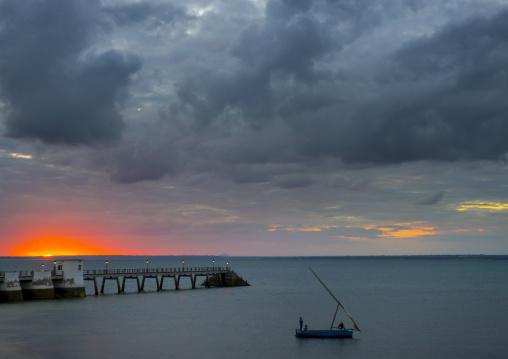 Sunset On The Harbour, Ilha de Mocambique, Nampula Province, Mozambique