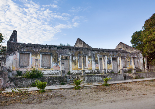 Old Portuguese Colonial Building, Ibo Island, Cabo Delgado Province, Mozambique
