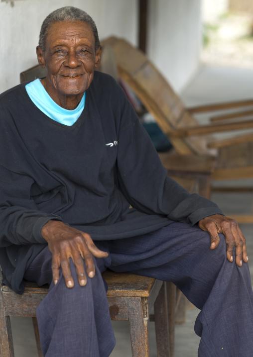 Old Man, Ibo Island, Cabo Delgado Province, Mozambique